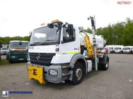 tipper truck > 7.5 t Mercedes-Benz 4x2 RHD Whale vacuum tank 7 m3 2007