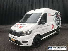 closed lcv MAN TGE 3 AUT8 FWD SW Gesloten bestelwagen 2021