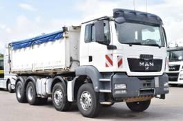 tipper truck > 7.5 t MAN TGS 35 8x4 BB 3Seiten Meiller Kipper Klima 2012