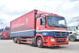 other trucks Mercedes-Benz Actros 6x2 Getränke LBW 2000Kg AHK Klima 2009