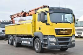 crane truck MAN TGS 26 Euro5 Lenk Atlas 165.2E-A12 Funk 2010