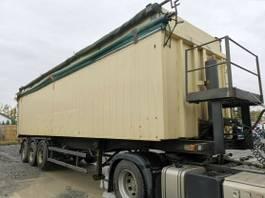 tipper semi trailer Schmitz Cargobull SKI 24-10,5 Kippauflieger Alu Portaltüren 54 m³ 1999