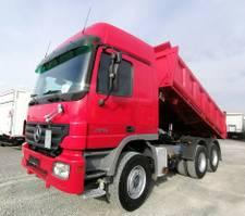 tipper truck > 7.5 t Mercedes-Benz 2646 6x4 Meiller Dreiseitenkipper Retarder (23) 2005