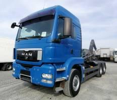 container truck MAN TGS 26 6x6H BL Abrollkipper Meiller (34) 2010