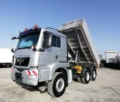 tipper truck > 7.5 t MAN TGS 26 6x4 Dreiseitenkipper Dautel 2009