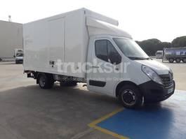 closed box truck Renault 165.35 2015