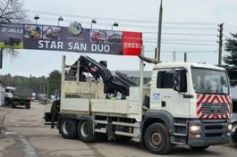 crane truck MAN 33.390 6x4 HIAB 400 E 5 Cran Kran 2006