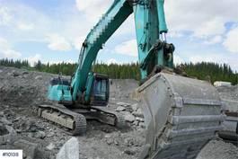 crawler excavator Kobelco SK500LC-10 w/ GPS & bucket 2017