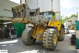 wheel loader Volvo 180E with overhauled engine 1,000 hours passed 2007