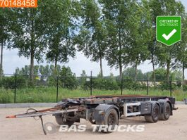 container chassis trailer GS Meppel AIC-2700 N 3 axles NL-Trailer Liftachse 2005
