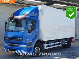 closed box truck DAF LF 55 4X2 NL-Truck Ladebordwand Euro 5 2007