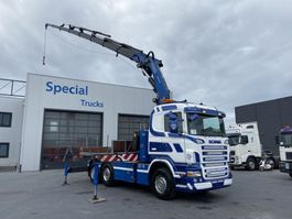 cab over engine Scania R V8 6x2 Euro 5 + Fassi F600 AXP.28 (with winch) 2007