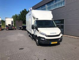 closed box truck Iveco Daily 35C14 2016