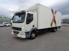 closed box truck DAF LF45.200, Euro 5 EEV, Low KM, NL Truck, TOP!! 2011