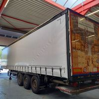 sliding curtain semi trailer System Trailer Schuifzeil oplegger