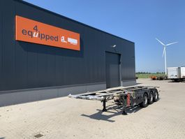 container chassis semi trailer Groenewegen 20FT/30FT ADR-Chassis, BPW, GALVANIZED, ALCOA, NL-Chassis 2008