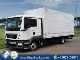 closed box truck MAN 8.180 8.6t manual airco 2018