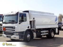 tank truck DAF Manual + 15000 L + 5 comp 2004