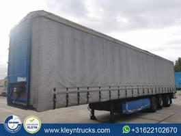 sliding curtain semi trailer Pacton TBD339 2002