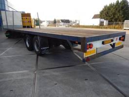 flatbed semi trailer GS Meppel 0TI 120 1800 2 As Oplegger Open, OD-62-LY 1995