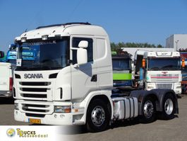 cab over engine Scania + Euro 5 + 6X2 2011