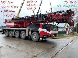 all terrain cranes Faun TADANO ATF 130G-5 - 130 TONS - 60m BOOM + JIB 18m - 5x EXTENSIONS - RADIO CONTROL - FULL MB ENGINE + GEARBOX 10x8x10 - TÜV 05/01/2023 !!! - TOP BELGIAN MACHINE 2017