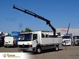 platform truck Mercedes-Benz + Manual + Palfinger PK 9001 + Euro 2 1999