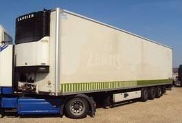 refrigerated semi trailer Krone 3 achs Mega Tiefkühl 2,8 hoch Portal Carrier 2007