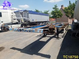 container chassis semi trailer Krone SD-27-EL Container Transport 2002