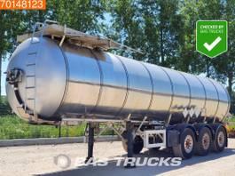 tank semi trailer semi trailer Feldbinder 25.3-1 Bitumen 25.000 Ltr Bitumen Liftachse 2004