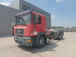 chassis cab truck MAN 26.403 (6 CYLINDER ENGINE WITH ZF-GEARBOX / EURO 2 / 6X2 / 8 TIRES) 1997