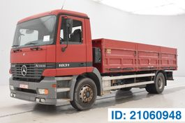 tipper truck > 7.5 t Mercedes-Benz Actros 1831L 1998