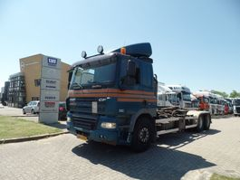 container truck DAF CF 410 Hooklift Manual Gearbox Euro5 2008