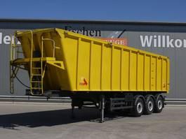 tipper semi trailer Stas SA 336 K, 47m³ Alumulde 2008