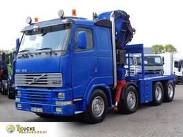 cab over engine Volvo + Manual + 80T/M FASSI CRANE + Euro 2 + 8X4 2001