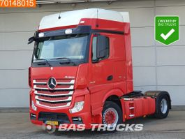 cab over engine Mercedes-Benz Actros 4X2 NL-Truck 2x Tanks Parking-Cooler GigaSpace 2014