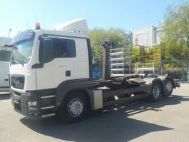 container truck MAN TGS 26 6x2 BL Abrollkipper 26.400 26.440 2009