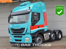cab over engine Iveco 6X2 Intarder ACC Standklima Lift+Lenkachse 2x Tanks 2016