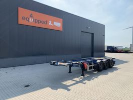 container chassis semi trailer LAG 20FT/30FT, ADR (FL, AT, OX) 2004