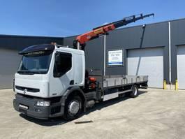 drop side truck Renault PREMIUM 270 + PALFINGER 15002 SLECHTS 86402KM!!!