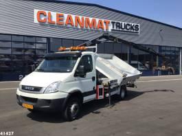 tipper truck > 7.5 t Iveco 65C17 Hiab 4 ton/meter laadkraan 2011