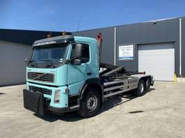 container truck Volvo FM12 340 6X2 HAAKSYSTEEM