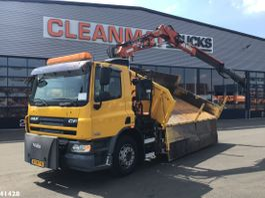 tipper truck > 7.5 t DAF 75 CF 250 Atlas 9 ton/meter laadkraan 2007