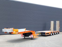 lowloader semi trailer Kel-Berg 4 AXLE / EXTENDABLE / RAMP / WINCH 2013