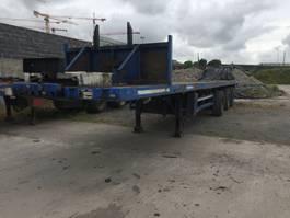 flatbed semi trailer Nooteboom Extender All Steer