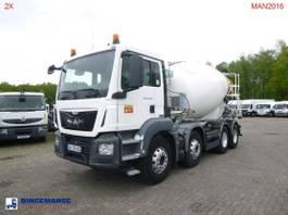 concrete mixer truck MAN 32.360 8X4 Euro 6 Imer concrete mixer 9 m3 2016