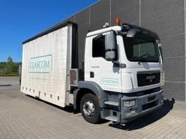 drop side truck MAN TGM 12.250 2012