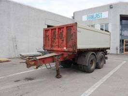 tipper semi trailer 13 m³ 2008