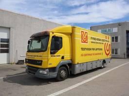 closed box truck DAF FA LF 45.220 2008