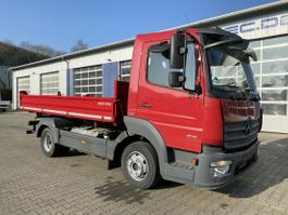 tipper truck > 7.5 t Mercedes-Benz 818 4x2 Euro 6 Dreiseitenkipper MEILLER 2018